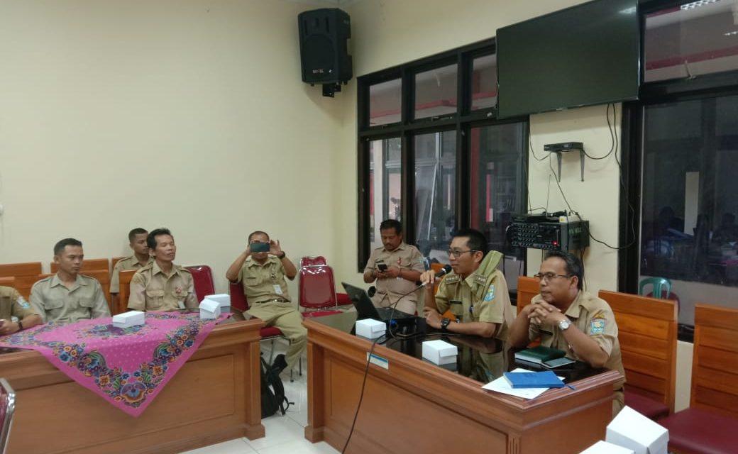 Pelatihan Website Bersama Dinas Informasi dan Komunikasi Kabupaten Purbalingga (DINKOMINFO) di Kecamatan Rembang